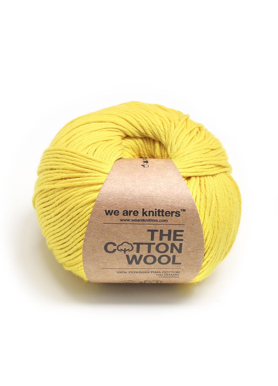 We Are Knitters 100% Coton Pima Jaune Coton Pima